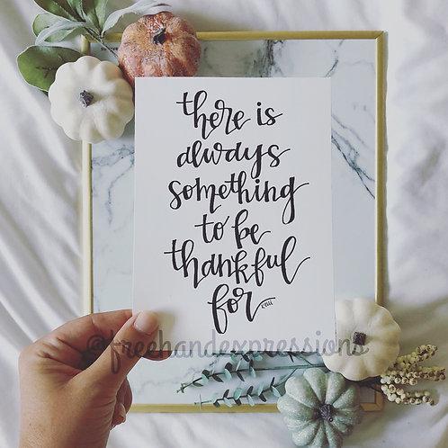Always Thankful (T13)