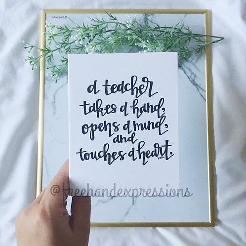 Teacher Takes A Hand (TAC1)