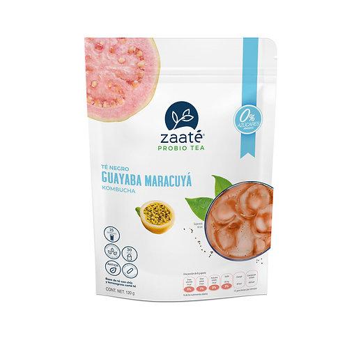 Kombucha Guayaba Maracuyá (0 Azúcar)