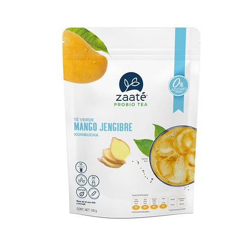 Kombucha Mango Jengibre (0 Azúcar)