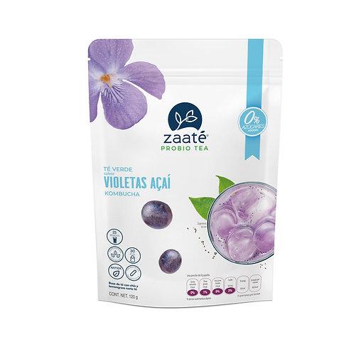 Kombucha Violetas Açaí (0 Azúcar)