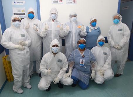 1.000 pessoas se recuperam da covid em São José