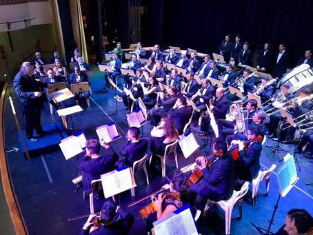 Banda Sinfônica faz concerto especial de Carnaval