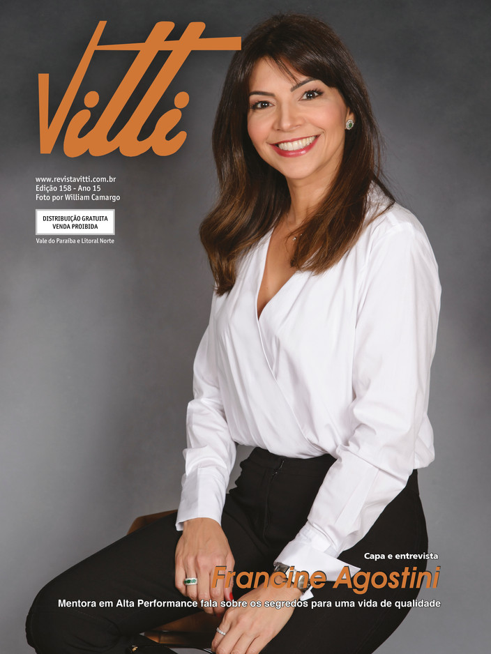 Revista Vitti 158 | FRANCINE AGOSTINI
