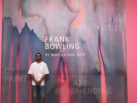 Exhibition: Frank Bowling