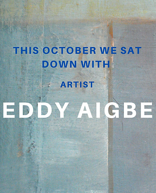 Artist Eddy Aigbe