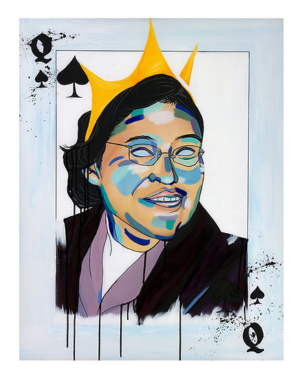 """Rosa parks """"Queen of Spades"""""""