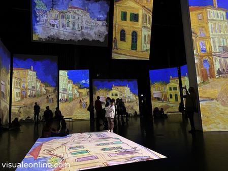 Van Gogh Alive: Interactive Art