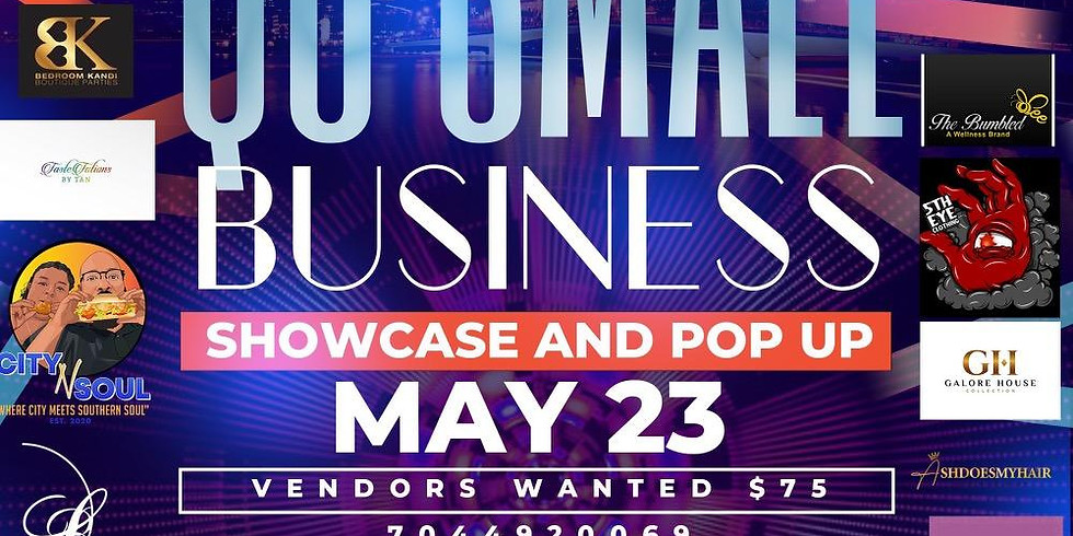 Qc Small Business Showcase and Networking Pop UP