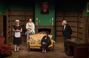 Mystery at the heart of glorious whodunnit spoof
