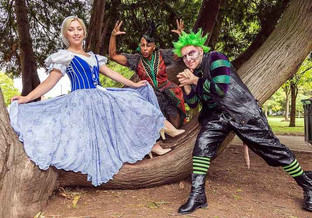 Madcap fun is just the cure for panto-phobia