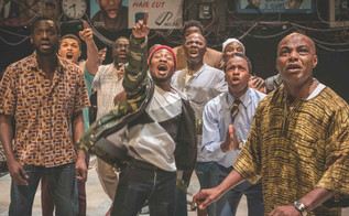 NT Live (YouTube) review: The Barber Shop Chronicles