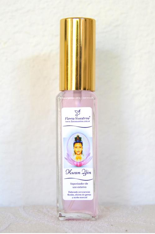 """Perfume Áurico """"Kwan Yin"""" por Flores Nuestras"""
