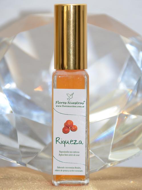 """Perfume Áurico """"Riqueza"""" por Flores Nuestras"""