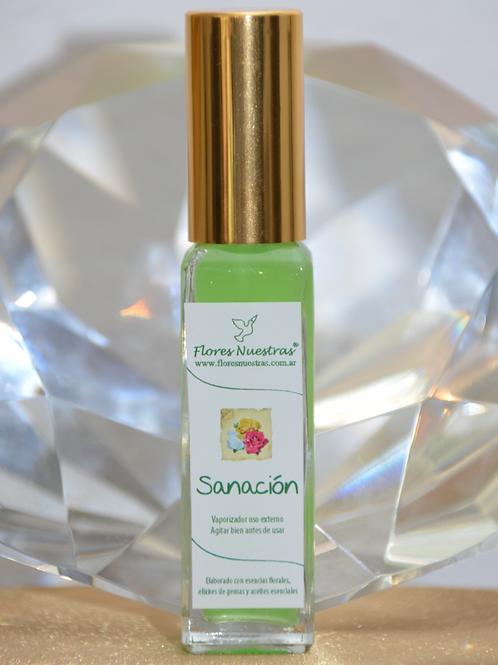 """Perfume Áurico """"Sanación"""" por Flores Nuestras"""