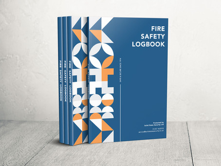 Free Fire Safety & Fire Alarm Logbook