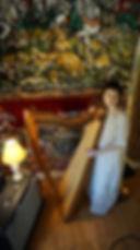Portlad experimental harp noise esoteric ecstatic occult ritual temple soundhealing magic realms satya yuga
