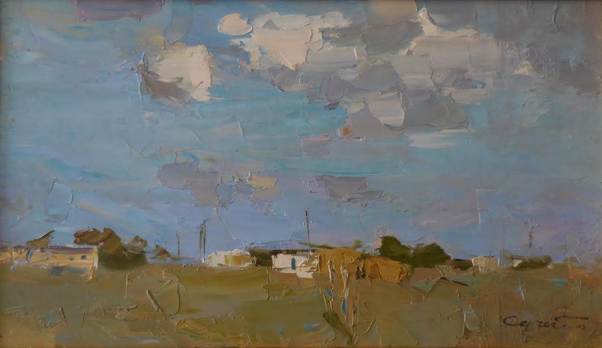 5. Sergey Kovalenko. Sky. 11x19inches oil on panel. $1000.jpg