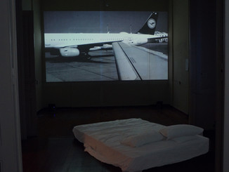 """Installation View, """"Resides and works in Athens""""Supported by CHEAPART"""
