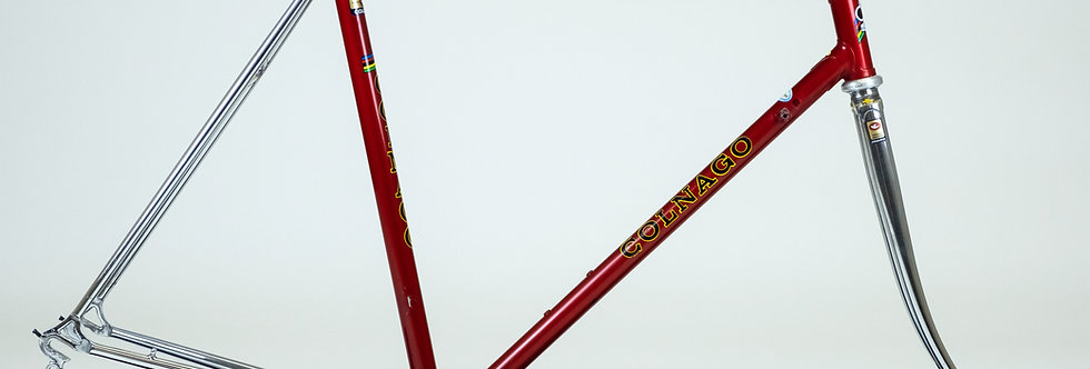 Vintage Colnago Super 1979 Steel Frame Columbus SL 53cm Campagnolo Super Record
