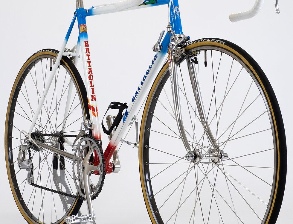 Vintage Battaglin 1987 Stephen Roche Replica Bike Campagnolo C Record Cinelli