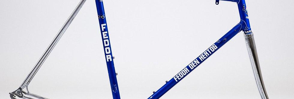 Vintage Fedor Den Hertog Steel Columbus Race Frame, Forks & Stem 56cm