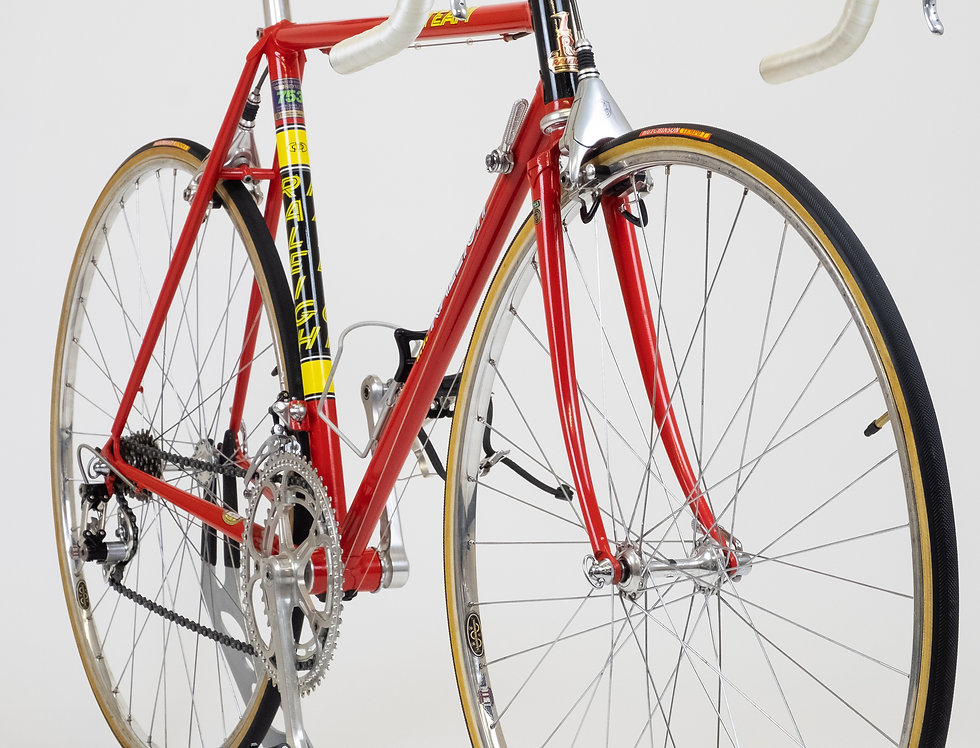 VintageRaleighSBDU Bicycle 52.5cm 1985/6 with Campagnolo Super Record & Delta
