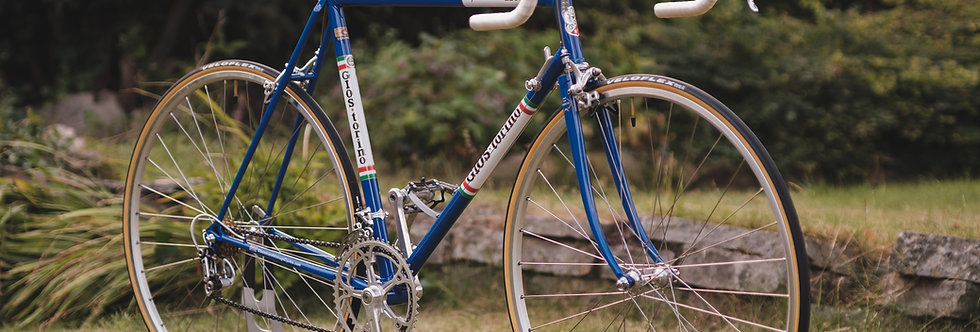 Vintage Gios Super Record Bike 55cm 1980 with Campagnolo Super Record
