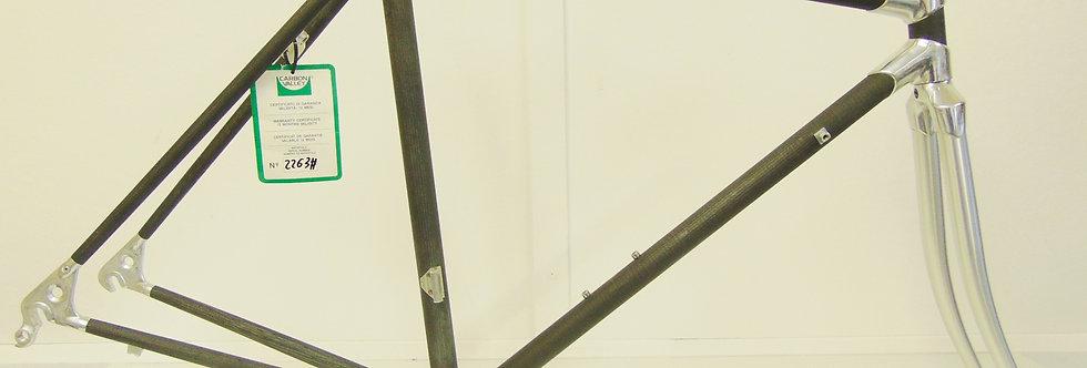 Carbon Aluminium Vintage Retro Frame 50-52cm  Prototype forAlan Carbonio NOS