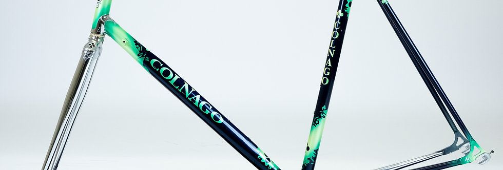 Colnago Crystal Competition Columbus Steel Frame & Precisa Forks 55c