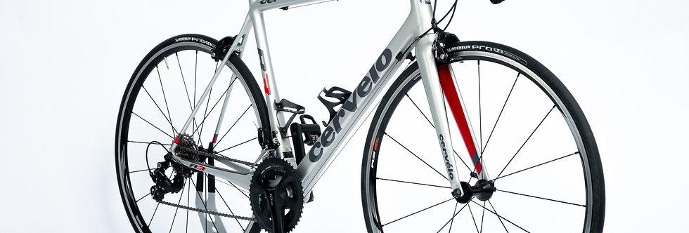 Cervelo R3 Carbon Bike 56cm Shimano 105 11 Speed Low Mileage 3T SLK