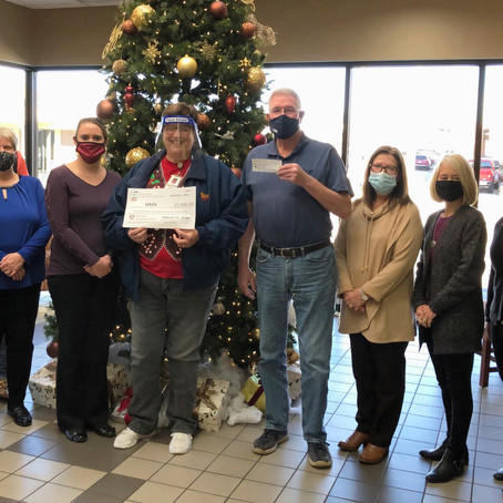 OATS Transit Receives Donation from First State Community Bank of Lebanon
