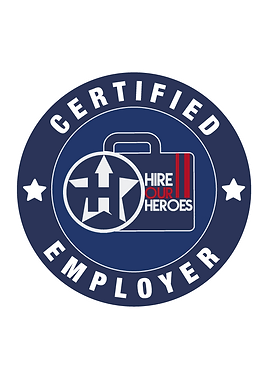 Hire Our Heroes - Certified Employer Log
