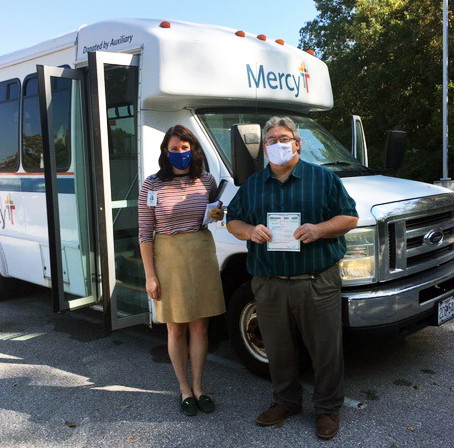 OATS Transit receives bus donation from Mercy Hospital