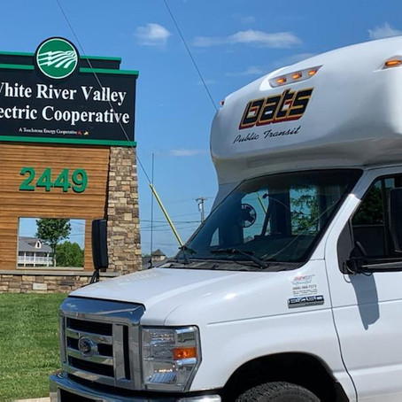 OATS Transit receives grant from White River Valley Electric Cooperative Trust
