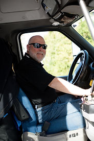 This is a picture of an OATS Transit driver.