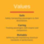 OATS Transit values