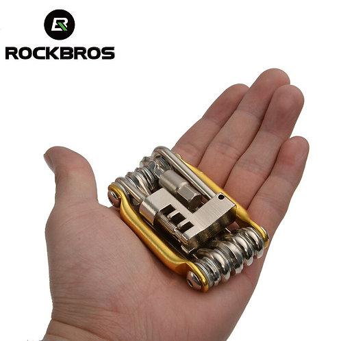ROCKBROS 11 in 1 Bicycle Mini Repair Tools Kit