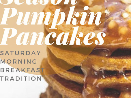 Holiday Season Pumpkin Pancakes