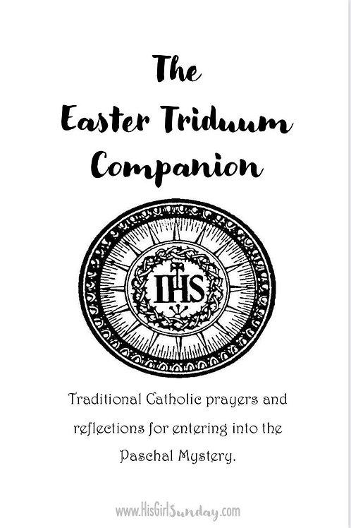 Easter Triduum Printable Companion