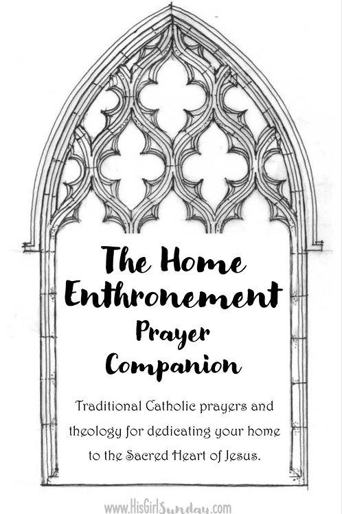 Home Enthronement Printable Prayer Companion