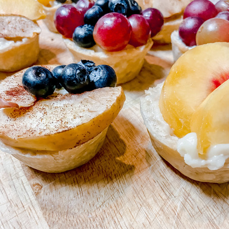 Queenship of Mary Tea Party Mini Fruit Tarts- August 22