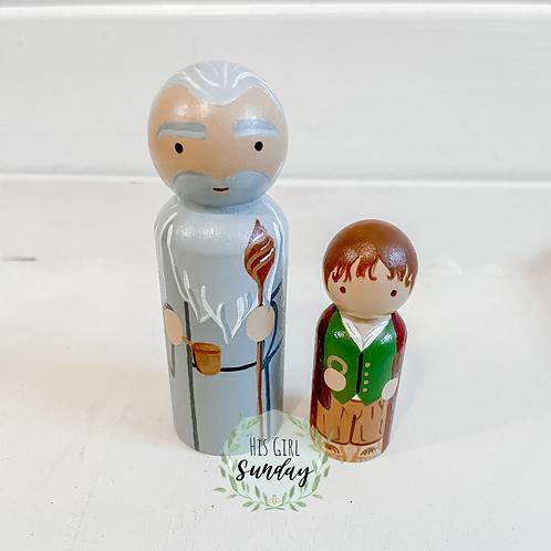Gandalf & Bilbo Baggins