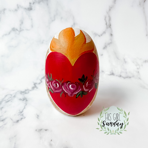 Immaculate Heart of Mary Egg