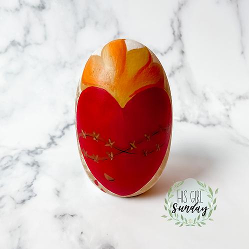 Sacred Heart Egg