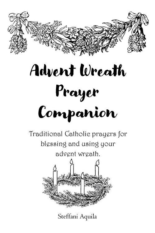 Advent Wreath Printable Prayer Companion