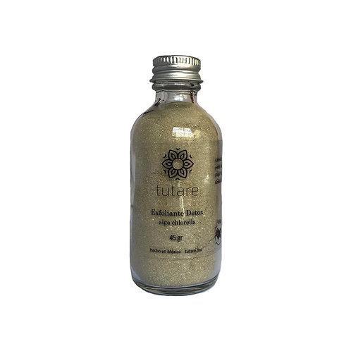 Exfoliante detox alga chlorella