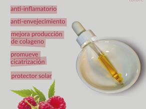 5 beneficios del aceite de semilla de frambuesa en la piel