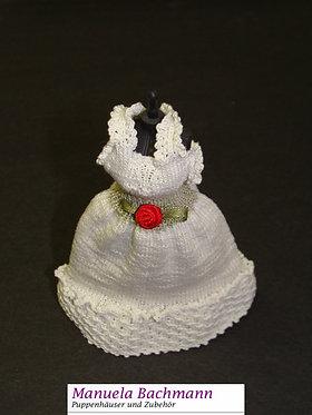 Hochzeitskleid mit Rüschchen, weiss