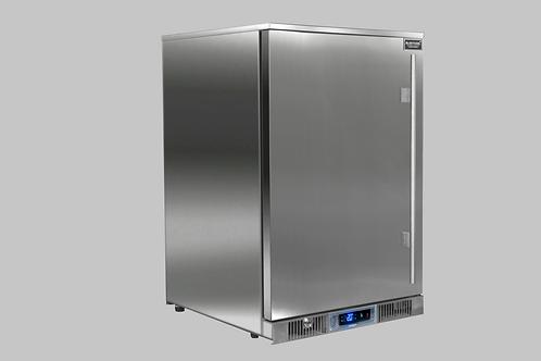 Réfrigérateur porte inox pour cuisines d'extérieur